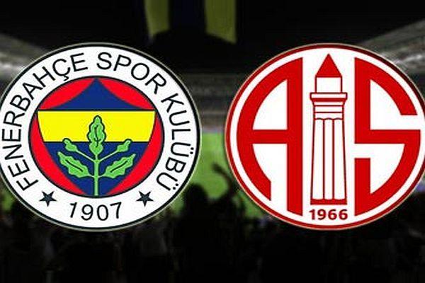 Fenerbahçe Antalyaspor maçı ne zaman, saat kaçta, hangi kanalda