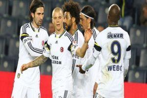 Fenerbahçe Rize'de güldü
