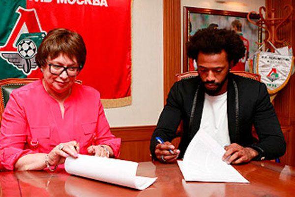 Fernandes Lokomotiv Moskova ile imzaları attı
