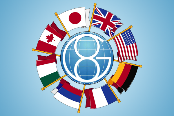 G-8 Zirvesi hazırlıkları askıya alındı
