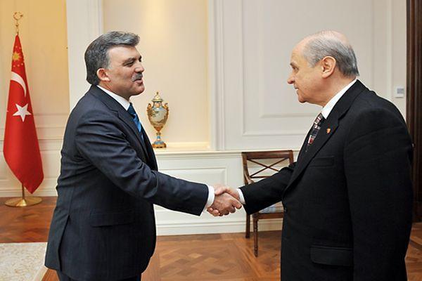Devlet Bahçeli, Cumhurbaşkanı Gül'ün talebini reddetti
