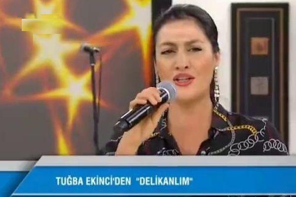 Tuğba Ekinci'den hodri meydan