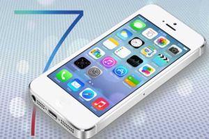iOS 7'ye güncelleme geldi