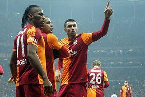 Galatasaray, Trabzonspor'u 2-1 yendi