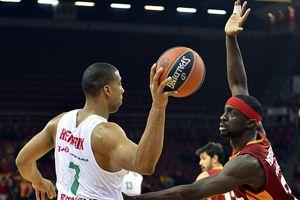 Galatasaray, Lokomotiv Kuban takımına 63-62 yenildi