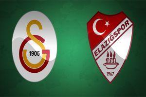 Galatasaray Elazığspor maçı golleri ve geniş özeti