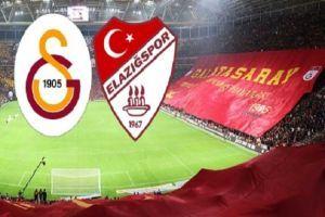 Galatasaray-Elazığspor maçı geniş özeti izle