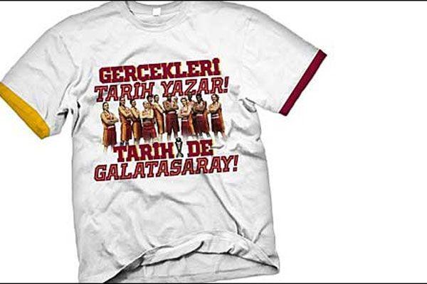 Galatasaray'dan şampiyonluğa özel tişört