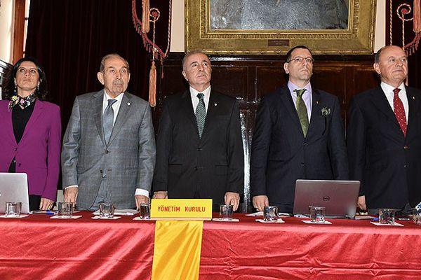 Galatasaray divan kurulu toplantısı yapıldı