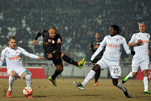 Elazığspor evinde, Galatasaray'ı 1-0 yendi
