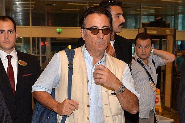 Andy Garcia İstanbul'a geldi