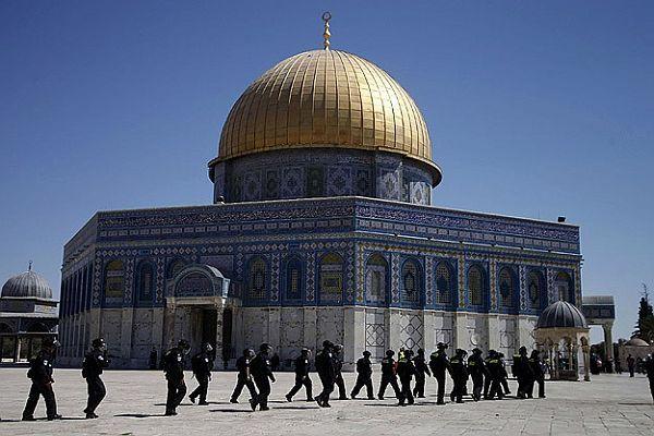 İsrail'den Filistinlilere göz yaşartıcı gazla müdahale
