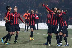 Gaziantepspor, Kayseri Erciyesspor'u 2-1 yendi