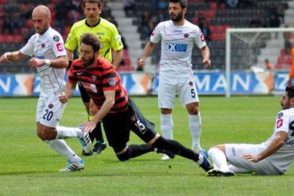 Gaziantepspor, Gençlerbirliği maçı geniş özeti ve golleri 0-1