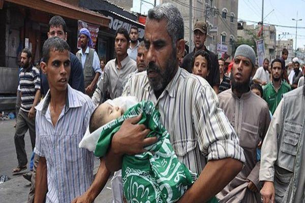 İsrail 2,5 yaşındaki çocuğu öldürdü