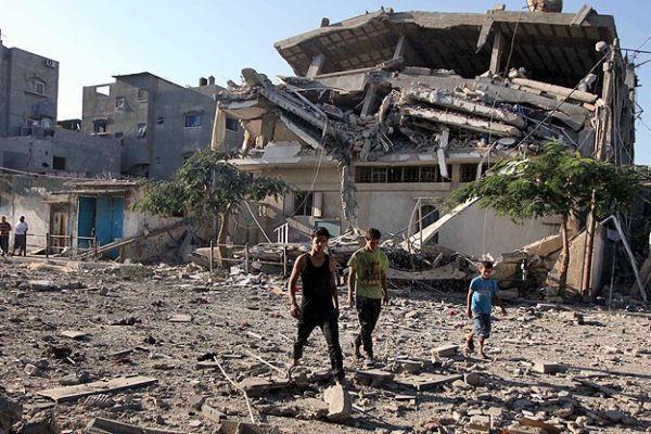 Gazze'de hayatını kaybedenlerin sayısı 2036'ya yükseldi
