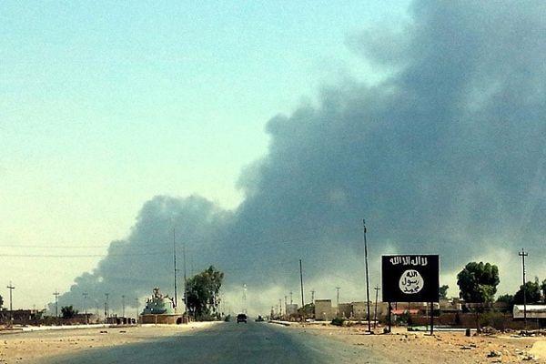 ABD uçakları IŞİD'i vurdu!