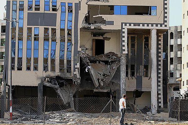 Gazze'ye son günlerin en büyük saldırısı