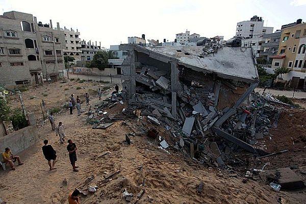 Gazze'de ölenlerin sayısı 187'ye yükseldi