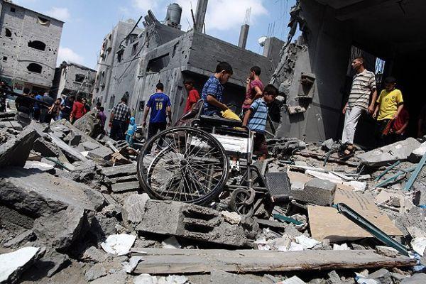 Gazze'de hayatını kaybedenlerin sayısı 745'e yükseldi