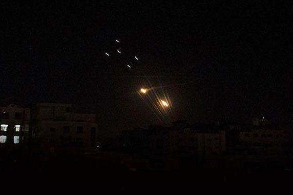 Gazze'den İsrail'e füze atışı