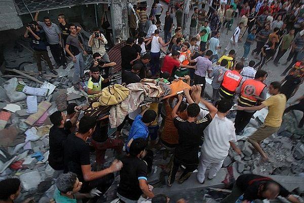 Gazze'de ölü sayısı 208'e yükseldi