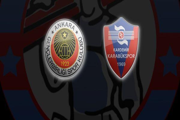 Gençlerbirliği Karabükspor maç özeti ve golleri
