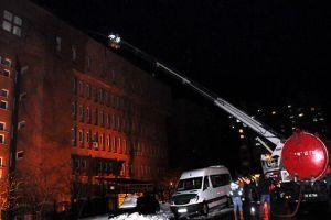 Giresun'da valilik binasında yangın çıktı