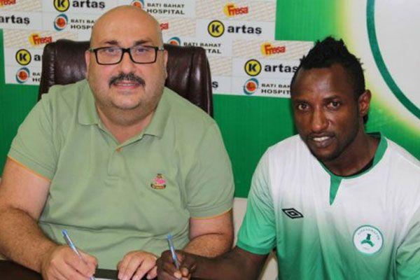 Nijeryalı futbolcu Giresunspor'da