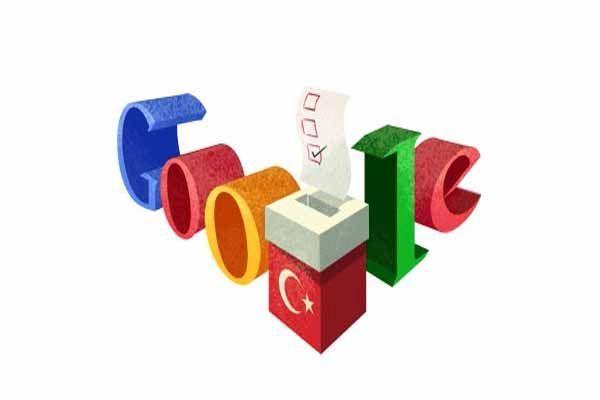 Google'dan 2014 yerel seçimlerine özel 'doodle'
