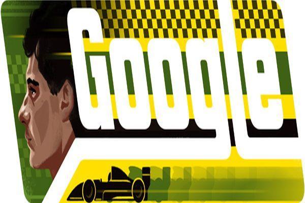 Google, Ayrton Senna'yı unutmadı