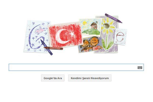 23 Nisan Ulusal Egemenlik ve Çocuk Bayramı logosu