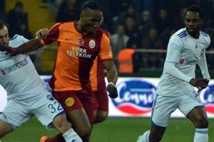 Kayseri Erciyesspor, Galatasaray'a 3 - 1 mağlup oldu