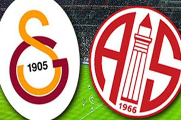 Galatasaray Antalyaspor maçı saat kaçta, hangi kanalda