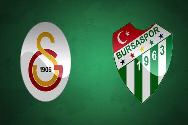 Galatasaray Bursaspor maçı muhtemel 11'leri