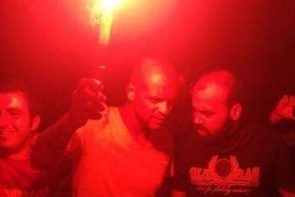 Galatasaray taraftarından Melo'ya destek