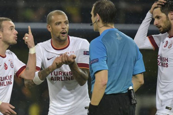 Galatasaray'ın yediği gol ofsayt mı