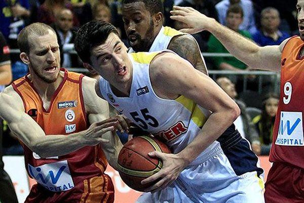 Fenerbahçe Ülker Galatasaray Liv Hospital'ı yendi