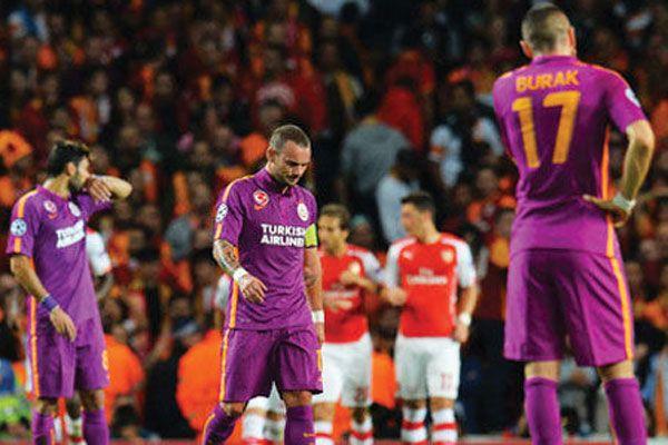 Galatasaray Emirates'te büyük yıkıma uğradı