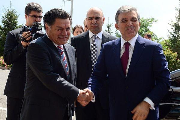 Gül'den AYM Başkanı Kılıç'a veda ziyareti