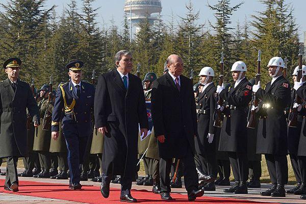 Romanya Devlet Başkanı Basescu Türkiye'de