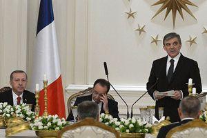 Gül, 'Türkiye ile Fransa politikaları örtüşen iki ülkedir'