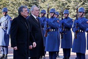 Moldova Cumhurbaşkanı Timofti Türkiye'de