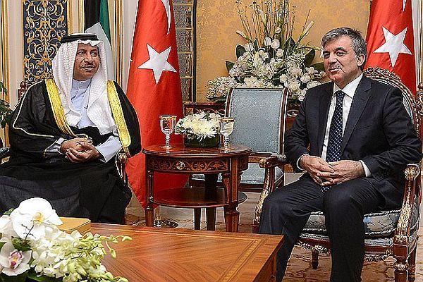 Cumhurbaşkanı Gül, Kuveyt Başbakanı ile görüştü