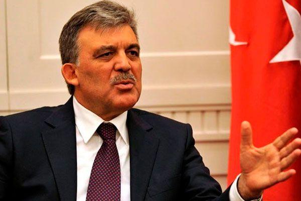 Cumhurbaşkanı Gül'den Türk bayrağı ile ilgili ilk açıklama