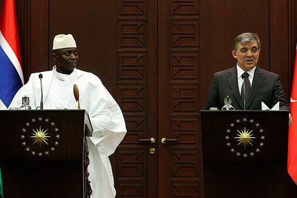 Gül, 'Gambiya Kıbrıs'a hep destek verdi'