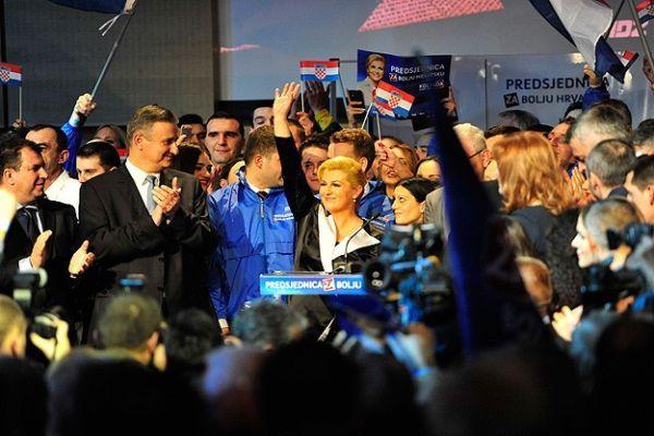 Hırvatistan cumhurbaşkanını seçti