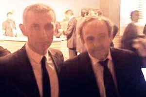Hacıosmanoğlu, Michel Platini ile görüştü