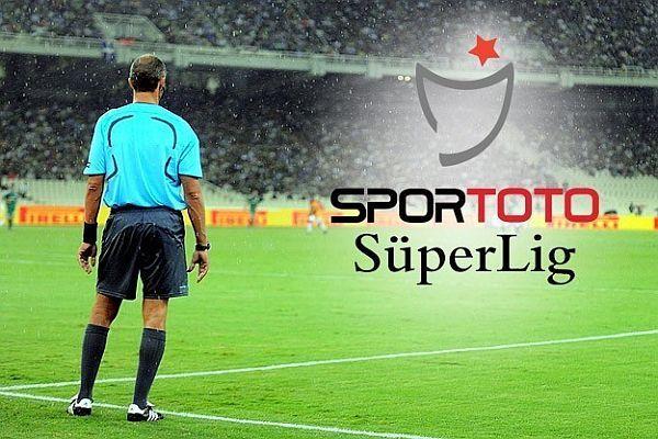 Süper Lig 27. hafta hakemleri açıklandı