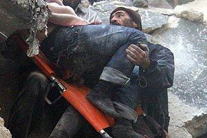 Halep'te varil bombalı saldırı, 8'i çocuk 16 ölü